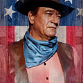 John Wayne Americas Cowboy by John Guthrie