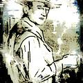 John Wayne by Arline Wagner
