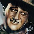 John Wayne by Elizabeth Silk