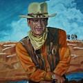 John Wayne by Jeff Orebaugh