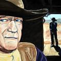 John Wayne by John Cox