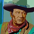 John Wayne by John Keaton