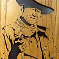 John Wayne by Kris Martinson