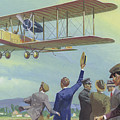 John William Alcock And Arthur Whitten Brown Who Flew Across The Atlantic by Severino Baraldi