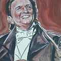 Johnny Cash by Bryan Bustard