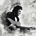 Johnny Cash by Karl Knox Images