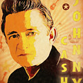 Johnny Cash Poster  by Dan Sproul