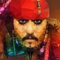 Johnny Depp As Jack Sparrow by Nishith Ram