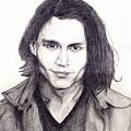 Johnny Depp by Debbie McIntyre