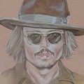 Johnny Depp by Sandra Valentini