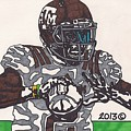 Johnny Manziel 12 by Jeremiah Colley