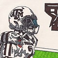 Johnny Manziel 13 by Jeremiah Colley