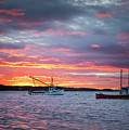 Johnson Bay, Maine Sunset by Colin Chase