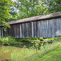 Johnson's Mill/salt Creek Covered Bridge  by Jack R Perry