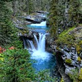 Johnston Canyon Falls Hike Lower Falls by Wayne Moran