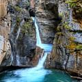 Johnston Canyon Falls Hike Upper Falls II by Wayne Moran