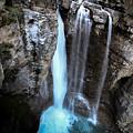 Johnston Creek Falls by Brandon Swanson
