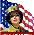 Join The Wac Now - World War Two by War Is Hell Store