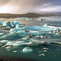 Jokulsarlon The Magnificent Glacier Lagoon, Iceland by Dubi Roman
