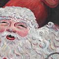 Jolly Santa by Nadine Rippelmeyer