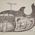Jonah In His Whale Home. by Fred Jinkins