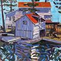 Jones Boathouse by Phil Chadwick