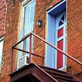 Jonesborough Tenessee - Upstairs Neighbors by Frank Romeo