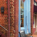 Jonesborough Tennessee Main Street by Frank Romeo