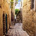 Joppa Israel Passageway by Brian Tada