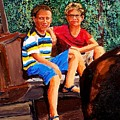 Jordan And Ben by Eli Gross