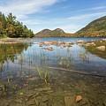 Jordan Pond Reflection by Paul Schultz