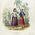 Josefa Martines Et Panchita Reyes by Massart