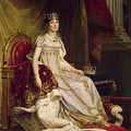 Josephine In Coronation Costume by Baron Francois Gerard