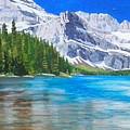 Josephine Lake by Paul Larson