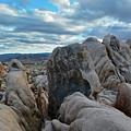 Joshua Tree Boulder Sky by Kyle Hanson