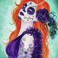 Joslyn Day Of The Dead Art by Renee Lavoie