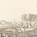 Journee Du 16 Octobre 1793, La Morte De Marie-antoinette by Antoine-jean Duclos After Charles Monnet