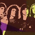 Journey Rock Band Pop Art by Dan Sproul
