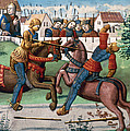 Jousting Knights, 1499 by Granger