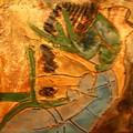 Joy Flowing - Tile by Gloria Ssali