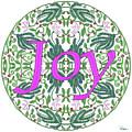 Joy With Purple Flowers by Lise Winne