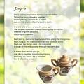 Joyce Poem by Joy Underhill