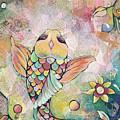 Joyful Koi I by Shadia Derbyshire