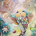 Joyful Koi II by Shadia Derbyshire