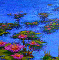 Joyful State - Modern Impressionistic Art - Palette Knife Landscape Painting by Patricia Awapara