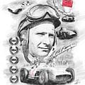 Juan Manuel Fangio by Theodor Decker