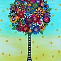Jubilant Tree Of Life by Pristine Cartera Turkus