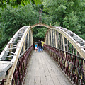 Jubilee Bridge - Matlock Bath by Rod Johnson