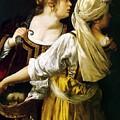 Judith And Her Maidservant 1613 by Gentileschi Artemisia