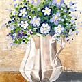 Jug Bouquet by Nermine Hanna